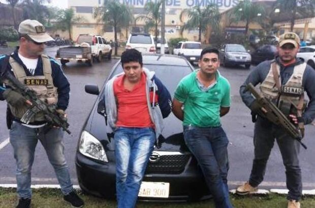 Traficantes são presos em flagrante durante operação policial