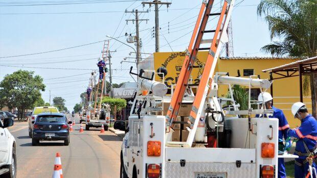 Lâmpadas de led serão instaladas na Afonso Pena e Mato Grosso