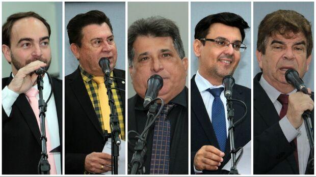 Vereadores criam comissão representativa para recesso parlamentar