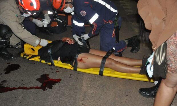 Colisão entre carro e moto mata jovem de 18 anos