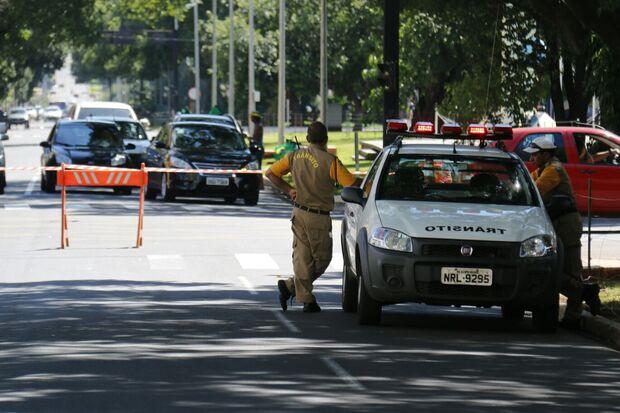 Ruas da capital serão interditadas para eventos neste fim de semana