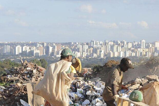 Lixões continuam a crescer no Brasil
