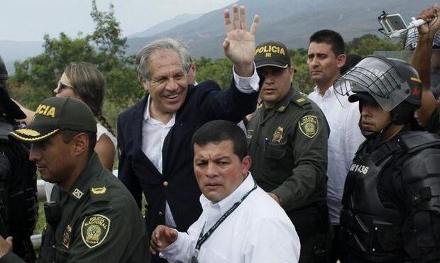 Secretário da OEA não descarta intervenção militar contra Maduro