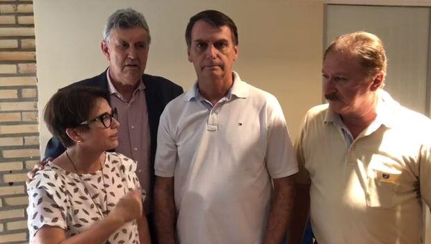 Vídeo: Bolsonaro grava para Reinaldo e agradece apoio