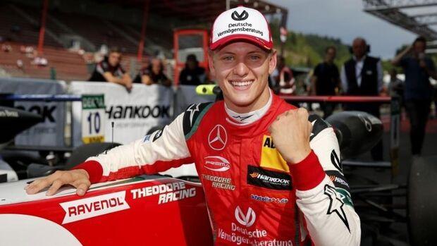 Filho de Schumacher é campeão pela primeira vez em sua carreira
