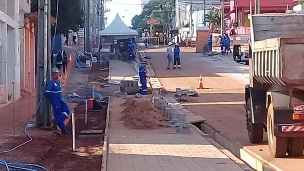 Com obras adiantadas, Reviva Campo Grande está mudando a