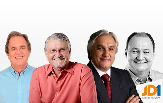 Pesquisa Ranking - Moka, Zeca, Delcídio e Miglioli, disputam segunda vaga; Nelsinho segue na frente