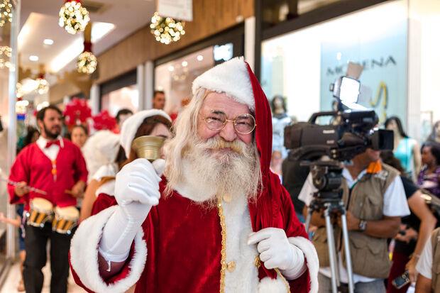 Papai Noel chega neste sábado, no Pátio Central Shopping