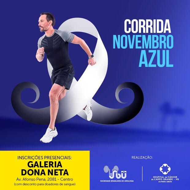 1° Corrida Novembro Azul é realizada em Campo Grande