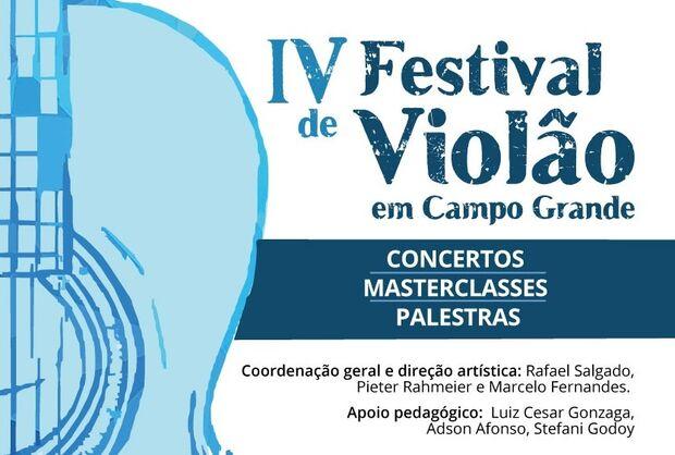Começa nesta quarta-feira, Festival de Violão na capital