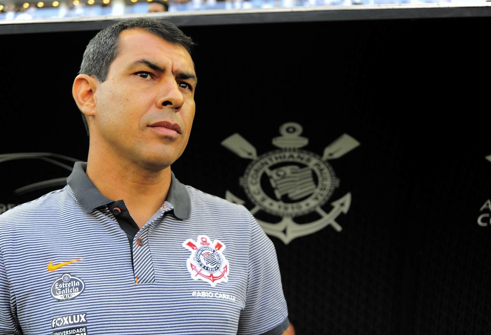 21c7082093 Corinthians anuncia retorno do técnico Fábio Carille pelo WhatsApp ...